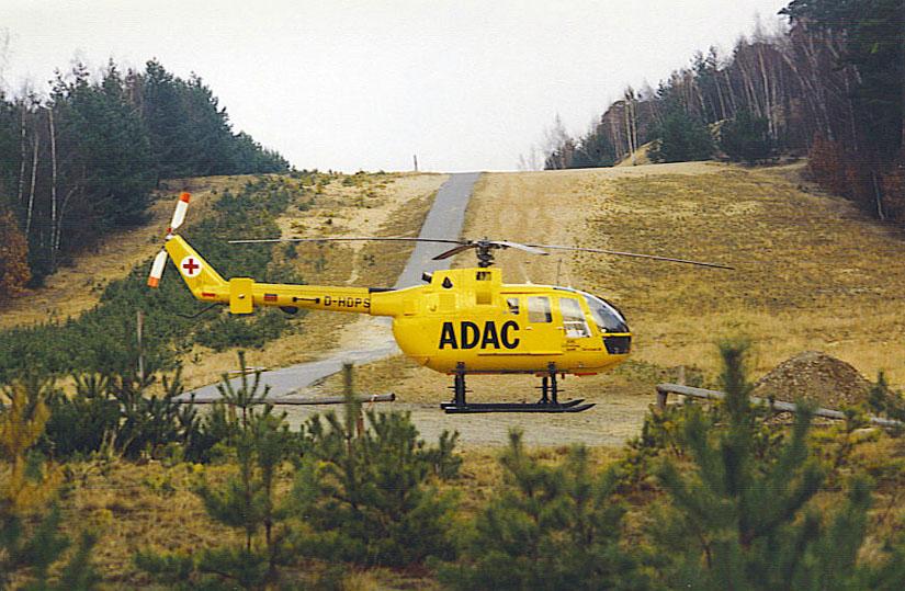 Die BO 105 hat Luftrettungs-Geschichte geschrieben und viel erlebt: Einsatz für Christoph 31 im Minengürtel Berlins.