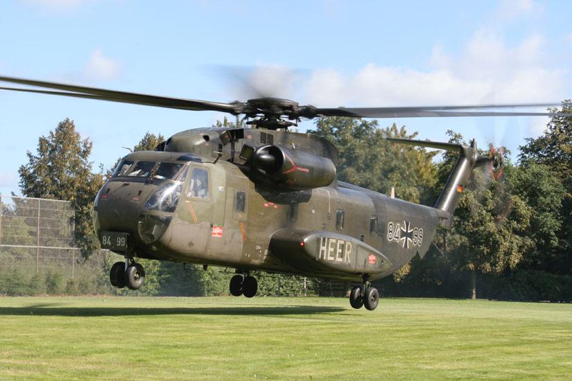 CH 53 G der Bundeswehr