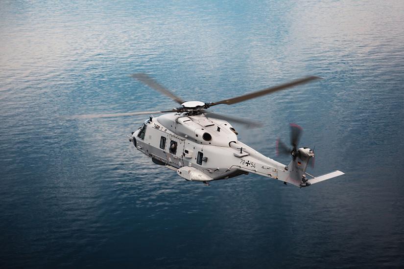 """Am 8. Juni 2020 hat die Deutsche Marine ihre ersten drei NH90 NTH """"Sea Lion"""" in Dienst gestellt"""